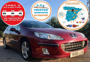 2006 PEUGEOT 407 SW 2.0 HDI AUTOMATIC