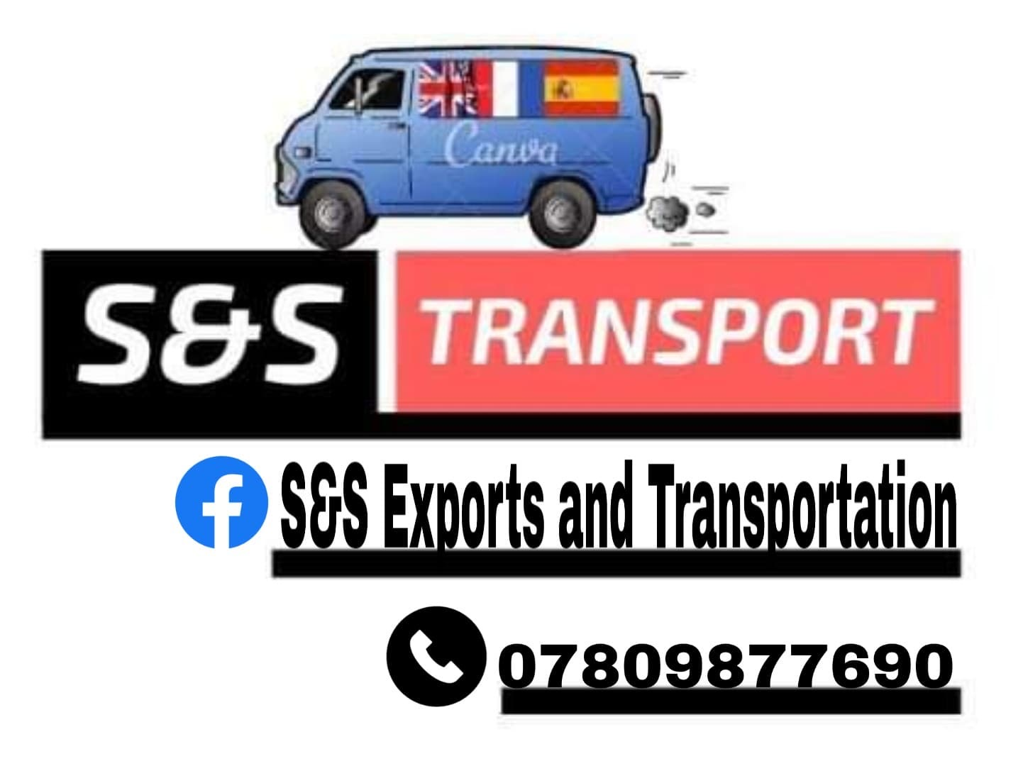 Transportation to Uk and to Spain